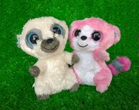 beanie boos rare - Rare ty Beanie Boos CLEO BUBBLEGUM Plush stuffed Animal SET