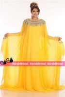 abayas for sale - Jajja Couture Evening Dresses Dubai Abaya Plus Size Kaftan For Women Sale Morrocan Style Long Sleeves Arabic Crystal Formal Outfits