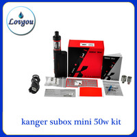 Wholesale kanger subox Mini Starter Kit clone Kangertech OCC coils Subtank Mini Kbox w box mod vs subtank plus nano EMS