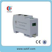 Wholesale Shipping Free new design mm guide rail install M M Network Surge protector cat5 cat ethernet surge protection