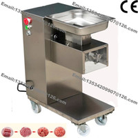 Wholesale 500KG H Stainless Steel mm mm Customized Blade v v Electric Commercial Fresh Meat Slicer Cutter Processing Machine