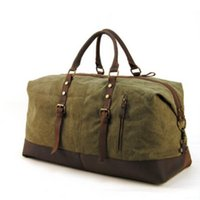 Wholesale sales of high quality canvas bags of American and European Wind fashion casual bag canvas travel bag