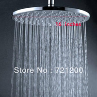 Cheap overhead shower round shower 16 inches ovehread shower rain shower head with arms 160313#