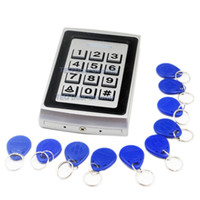 Wholesale 2000Users Matal Case Door Access Control Controller Proximity RFID Reader with Keypad