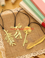 animal book mark - Stylish Gold Plated Hollow Animal Feather Bookmarks Book Mark Office Supplies High quality Hot