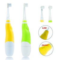 Wholesale New Seago Professional Dental Care Waterproof Kids Intelligent Electric Toothbrush SG Baby Sonic Electric Brush Heads