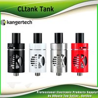 Wholesale Original Kanger Cltank Tank Kangertech Cl Tank ml ml Capacity atomizer Child Lock Top Filling POM Drip Tip Atomizer genuine