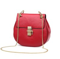 Wholesale Genuine Leather Women Messenger Bags Summer Small Chain Bag Brand Designer Vintage Shoulder Bag Ladies