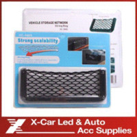 Wholesale Car Vehicle Network Storage String Bag Automotive Interior Net Organizer Pockets Net Pocket With Adversive Mesh Net Size x20cm