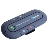 Wholesale Newest In car Wireless FM Transmitter Radio Adapter Car Kit Mini Portable Bluetooth Wireless Hands free Car Kit Wireless Portable Multipoint