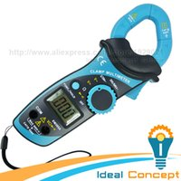 Wholesale Auto Range Clamp Meter Multimeter DCV ACV AC Current Resistance Diode Continuity