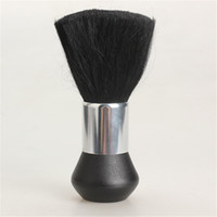 Wholesale High Quality Barber Neck Duster Soft Brush Hairdressing Hair Cutting Salon Stylist Black