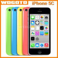 Cheap Original iPhone 5C Refurbished Unlocked Apple Cell Phone 1GB Ram 16GB Rom Dual Core Low Price China Mobile Phone i Phone 5C