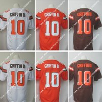 america factory - NWT Factory Newest Hot NIK Elite Cleveland Robert Griffin III Browns White Stitched Embroidery Logos America Football Jerseys Sweatshirts