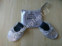ballet shoes discount - Free shippping Popular girl ballet shoes Best Discount fold up ballerina shoes with customized logo bag