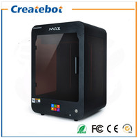 Wholesale Createbot Deskstop Max d Printer Two nozzles fully assembled Large d printer with Heatbed Touch Screen High Quality