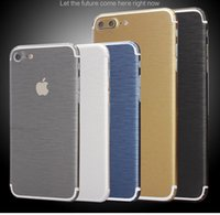 Wholesale For iPhone PLUS Fashion Matte Full Body Decal Back Film Sticker Skin Case For iPhone s plus s plus Cover