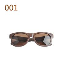 bamboo eyeglass frames - Retro Fasion Wooden Bamboo frame Sunglasses Polarized Eyeglasses Reflective lens Men Women Brand Design Wood sunglasses