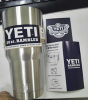 beer product - gt Product detail Stainless Steel oz Yeti Cups Cooler YETI Rambler Tumbler Cup Vehicle Beer Mug Double Wall Bilayer Vacuum Insulated