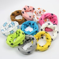 Wholesale 2016 new autumn winter children s cotton scarves stars scarf Korean baby Multifunction collars bandana kid boy girl scarf