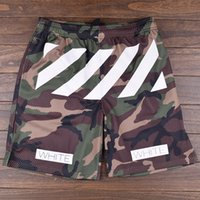 Wholesale summer new collection Off white c o virgil abloh Camouflage mesh men s sport mesh