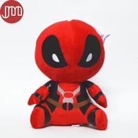 al por mayor x men felpa-Nueva Funko Mopeez Marvel Deadpool muñeca de la felpa de X-Men Spiderman Q Versión Niños Juguetes animado Bonecas Colección Boy Brinquedos regalo