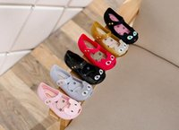 Wholesale Top Quality Mini Melissa CAT Shoes Summer Kids Sandals Ultragirl Flat Toddler Shoes colors available