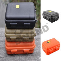 airtight cases - 2016 NEW Outdoor Shockproof Waterproof Airtight Survival Case Container Storage Carry Box Colors L26