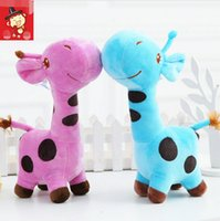 baby girl game - Unisex Cute Gift Plush Giraffe Soft Toy Animal Dear Doll Baby Kid Child Girls Christmas Birthday Happy Colorful Gifts
