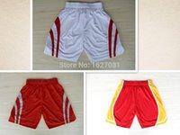 basketball howard jerseys - Cheap Basketball Shorts Red White Sport Running Shorts Jersey Mens Women Kids Shorts Olajuwon Harden McGrady Howard