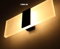 Wholesale New style cheap W W W W LED Wall Lamp indoor lamp light simple modern styled building Free shippiing