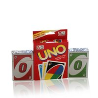 Wholesale Playing Card Games UNO Poker Cards Standard Edition Number For Family Fun Entermainment Board Game