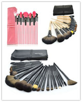Wholesale Cheap Wholesale Tools Prices - 24pcs Brand Makeup Brushes Tools Professional Cosmetics Kits Eyeshadow Foundation Powder Brush Sets with Logo MAKE UP FOR YOU Cheap Price