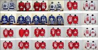 Wholesale leafs Draft Matthews Lupul Gilmour van RIEMSDYK Clark White Blue winter classic Hockey Jerseys Stitched Mix Order