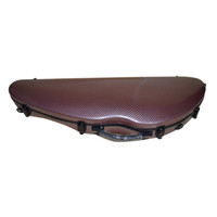 Wholesale Fashionable Elegant Brown Violin Case Full Size Composite Carbon Fiber