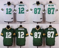 packers jersey - NEW Aaron Rodgers Jordy Nelson Jersey Stitched Packers Jerseys Cheap Size M XXXL discount football jerseys Custom Elite Embroidery