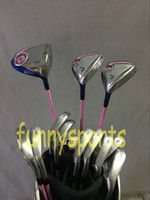 Wholesale Women Complete Set Golf Clubs XXIO9 MP900 Driver XXIO MP900 Fairway woods XXIO9 MP900 Golf Irons PAS