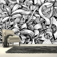 Wholesale Custom Photo Wallpaper D Graffiti Art Urban Murals For Living Room Bedroom Sofa Background Wall Mural Wallpaper Papel De Parede