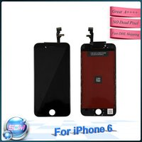 apple orginal - 4 inch AAA quality full touch screen for Iphone LCD orginal Display Digitizer Assembly replacement black and white