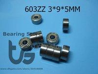 Wholesale 603ZZ ABEC bearing metal Sealed Miniature Mini Bearing chrome steel bearing Z ZZ mm bearings