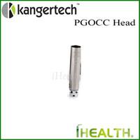 Wholesale Kanger PGOCC Replaceable Coil Head for Pangu NiCr ohm SUS316L ohm for MTL DL Vaping Original Kanger Pangu Disposable PGOCC head