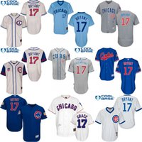 Wholesale 2016 World Series Champions patch Kris Bryant Jersey Men s Kris Bryant Chicago Cubs Turn Back baseball Jersey stitched s xl