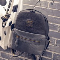 Wholesale Fashion Woman PU Leather Travel Backpacks Sport Latop Book School Bags For Teenagers Girls