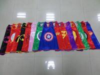 Wholesale Promotional cm Single Cloak Superman Spiderman Batman Captain America Halloween Children In Europe And America Exports