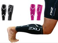 Wholesale 2XU Running Fitness Training Leg Sleeves Basketball Running Cycling Compression Training Leg Sleeves Circulation Recovery Legwarmers