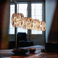 Wholesale Modern Fashion heads crystal led ceiling pendant lamp cord K9 Crystal vintage Chandeliers For Kitchen Lights dinging room bar