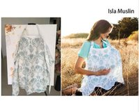 Wholesale Udder Covers Breast Feeding Nursing Cover New Nursing Cover Breastfeeding Cover Baby Infant Breathable gauze Cotton Muslin towel B