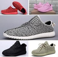 Wholesale Kanye original single sports shoes breathable woven coconut men and women running shoes