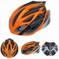 Wholesale orange black Hot New Bicycle Helmet Safety Cycling Helmet Head Protect Bike helmet road mountain bicycle accessories