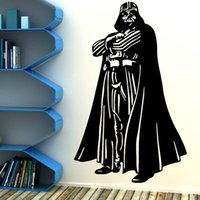 Wholesale STAR WARS DARTH VADER Vinyl wall art sticker room bedroom movie decal Home Decor Wallpaper Mural D358